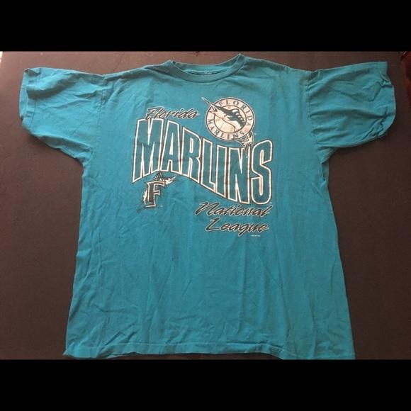 Other - 1993 Men's Florida Marlins t shirt.